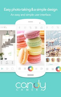 Candy Camera for Selfie- screenshot thumbnail