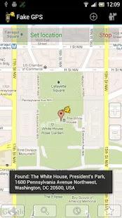 Fake GPS Location Donate - screenshot thumbnail