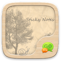 GO SMS PRO STICKY NOTES THEME icon