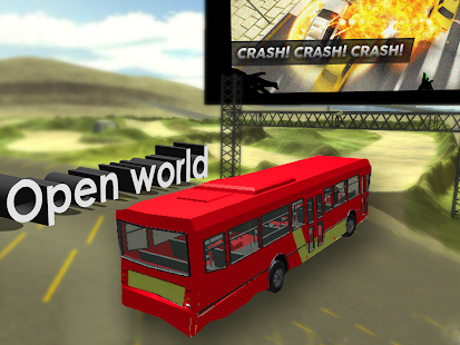 City Bus Driver Sim 3D- screenshot thumbnail