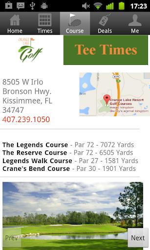 玩免費運動APP|下載Orange Lake Golf Tee Times app不用錢|硬是要APP