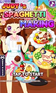 Judy's Spaghetti Maker - cook