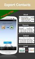 Screenshot of SA Contacts Lite