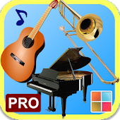 Musical Instruments Cards PRO