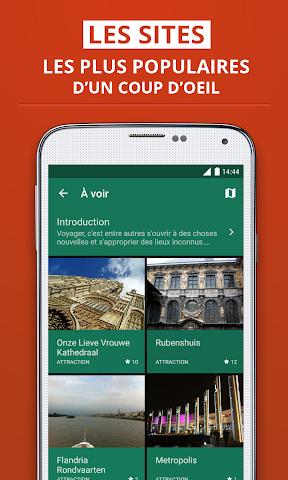 Screenshot 2 Antwerpen Reiseführer