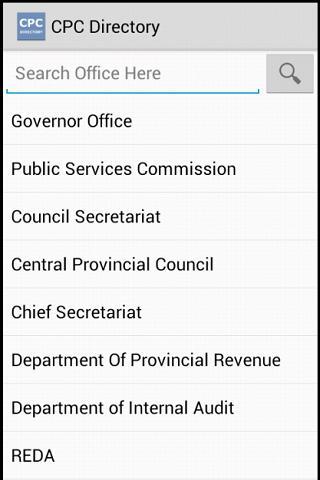 CPC Directory Sri Lanka