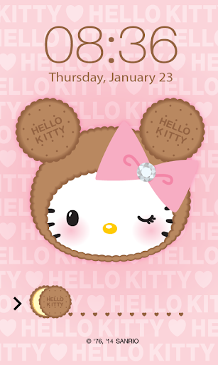 Hello Kitty Biscuit ScreenLock