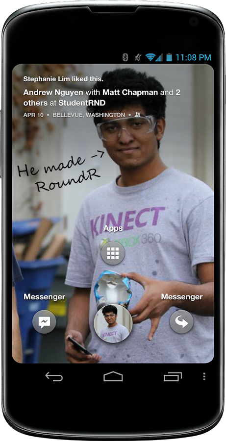 Roundr - Round Screen Corners - screenshot