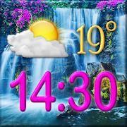 Waterfall Clock Weather Widget 5.0 Icon