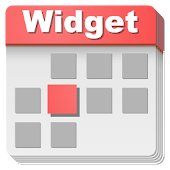 Calendar widget 2015 material