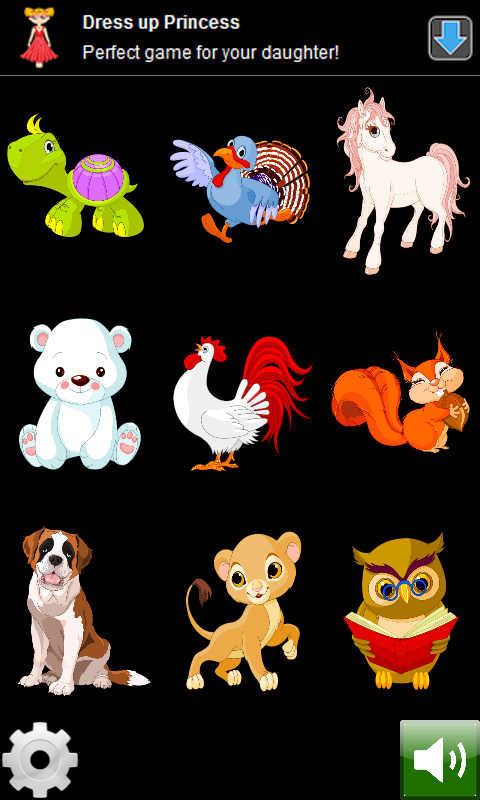 Animals World for kids- screenshot