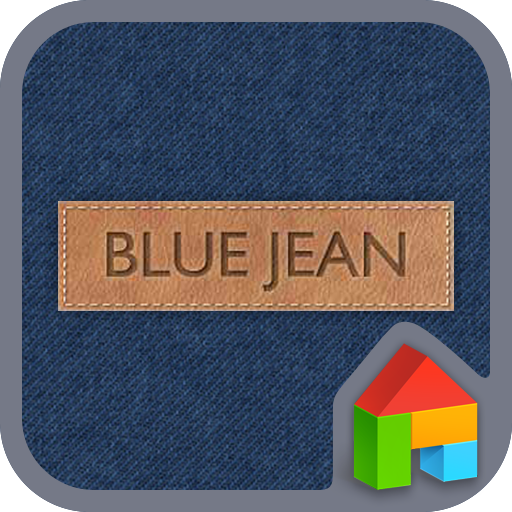 Blue Jean LINE Launcher theme 個人化 App LOGO-硬是要APP