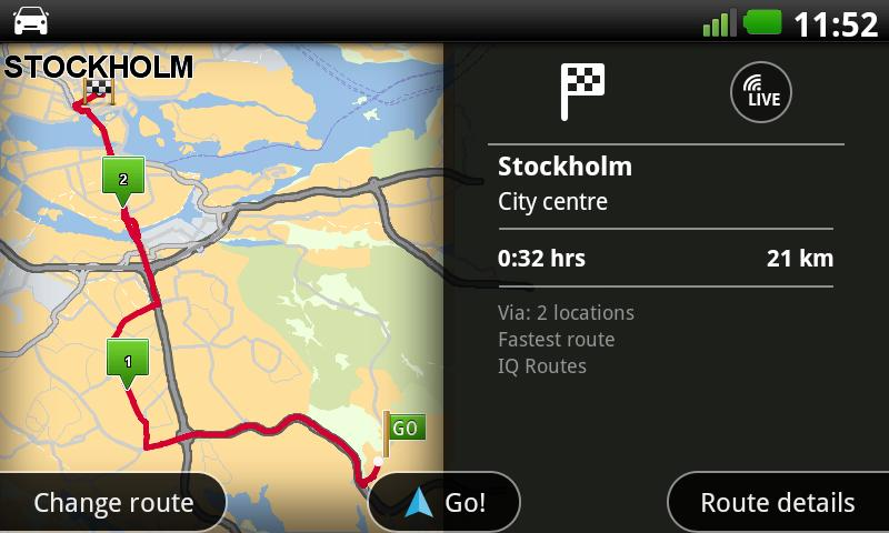 TomTom Nordic - screenshot