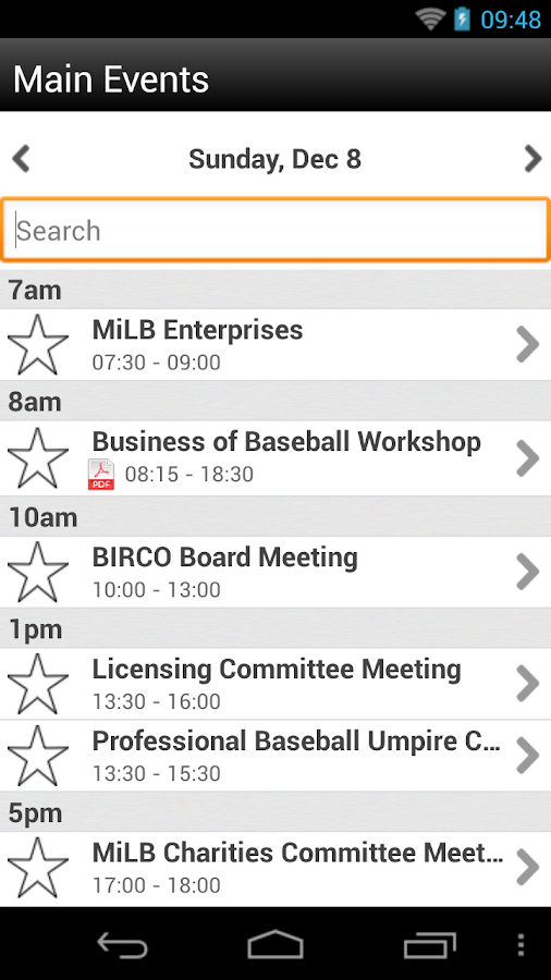 Baseball Winter Meetings 2013 - screenshot