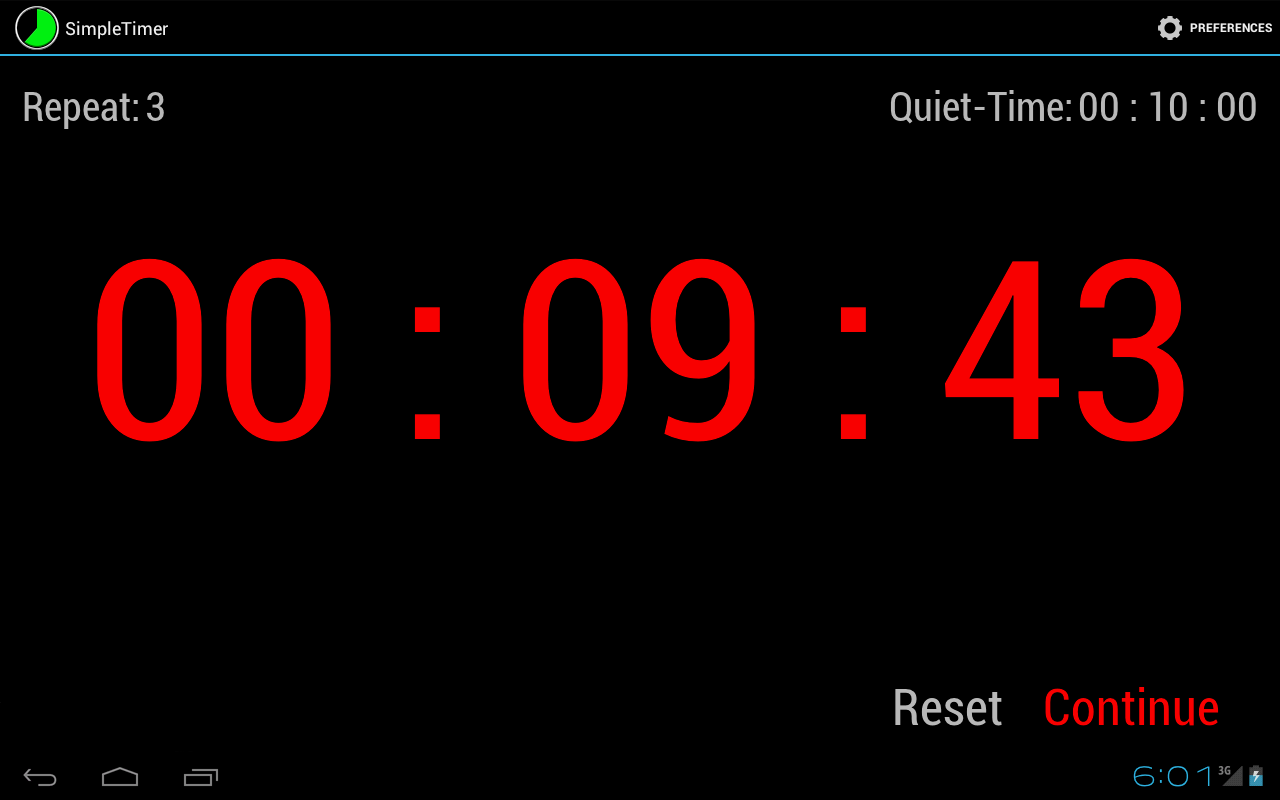 Simple Timer - screenshot