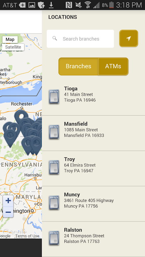 C&N Mobile Banking App- screenshot
