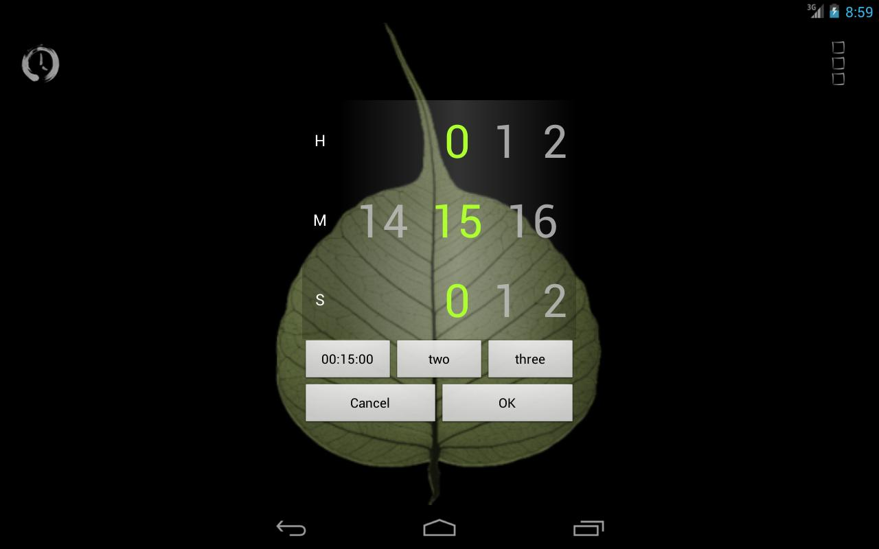 Bodhi Timer - screenshot
