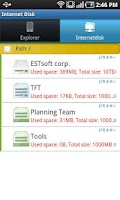 Screenshot of InternetDisk