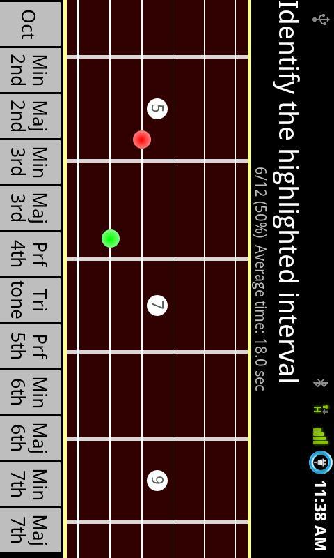 RR Guitar Interval Trainer LT– Capture d'écran