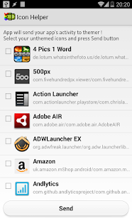 Alim Haque: Icon Request Tool - screenshot thumbnail