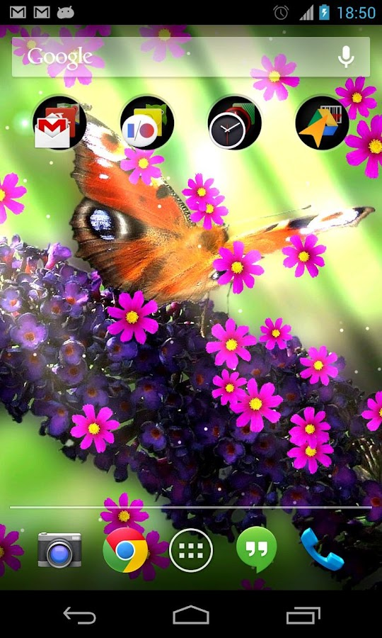 Flower photo Live Wallpaper- screenshot