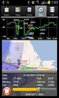Screenshot of RF Signal Tracker