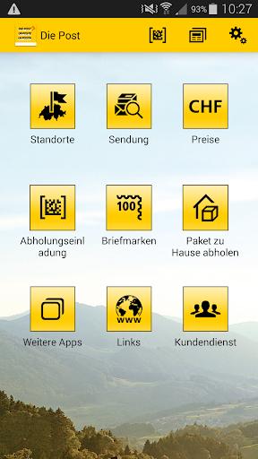 App der Schweizerischen Post