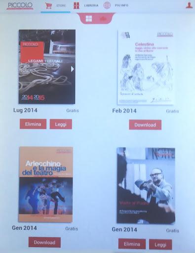 【免費新聞App】Edizioni Piccolo Teatro Milano-APP點子