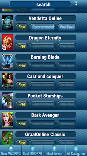 MMORPG APP - Free MMO Games