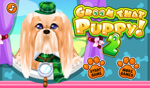Pet Puppy Grooming Care