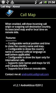 Call Map - screenshot thumbnail