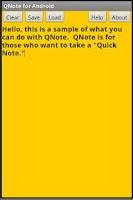 Screenshot of QNote