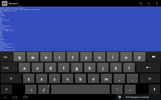 Terminal Emulator for Android 1.0.70 screenshots 7