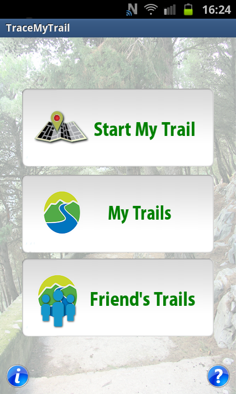 Trace My Trail - screenshot