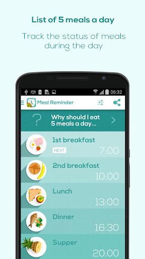 Meal Reminder - Weight Loss 1.8.8 screenshots 1
