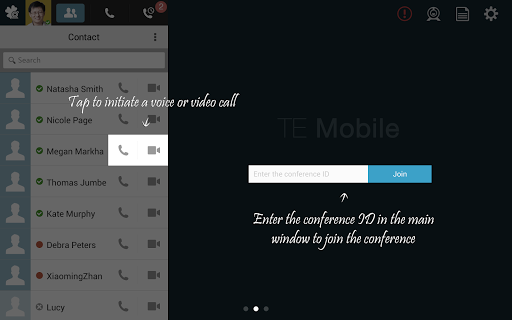 TE Mobile app (apk) free download for Android/PC/Windows screenshot