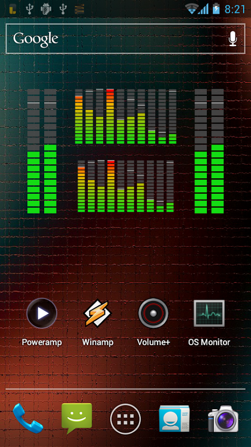 Music VU Visualizer Widgets- screenshot