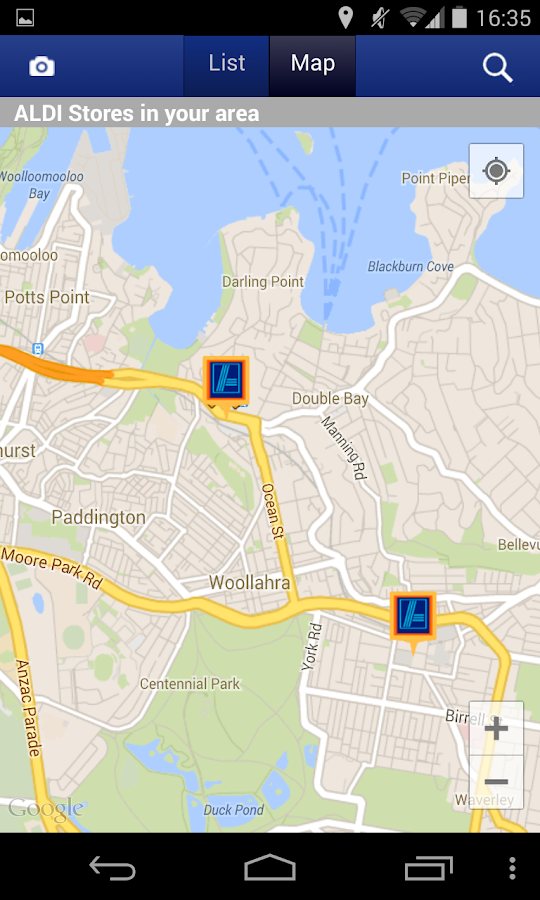 ALDI Australia - screenshot