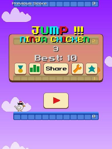 Jump Ninja Chicken