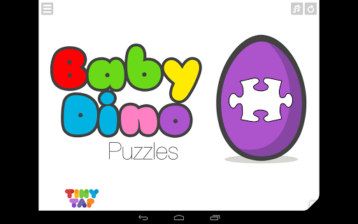 Baby Dino Puzzles for Kids
