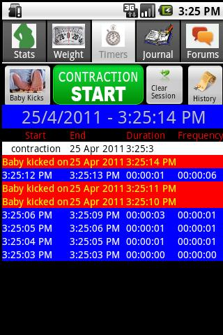 Happy Pregnancy Ticker - screenshot