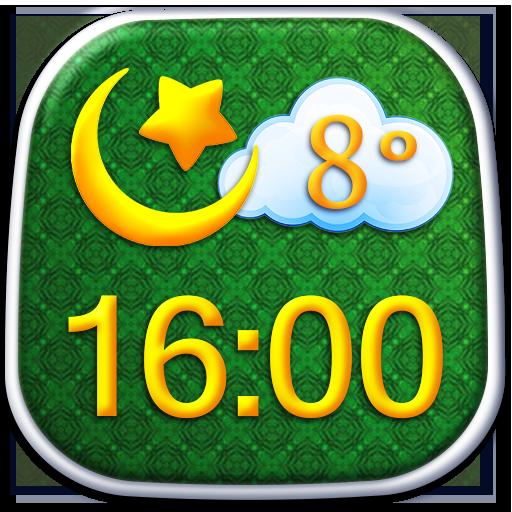 伊斯兰教时钟天气小工具 天氣 App LOGO-硬是要APP