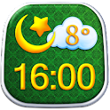 Islam Widget Météo D'horloge icon