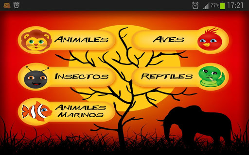 Animals Pictures in Spanish