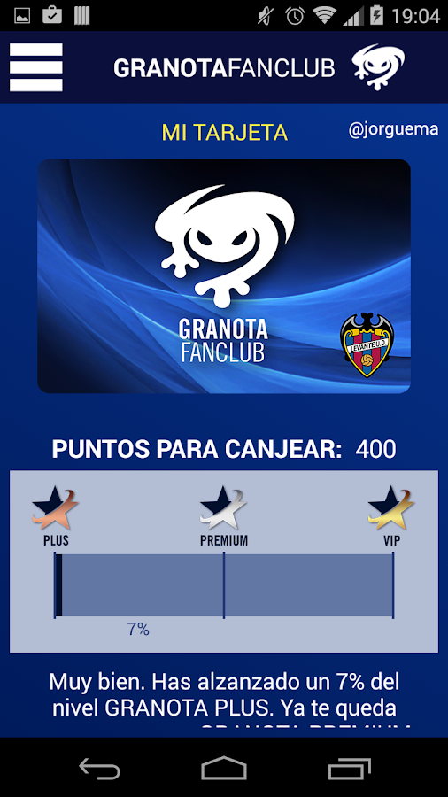 GRANOTA FANCLUB LEVANTE U.D.- screenshot