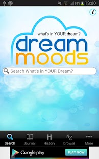 Dream Moods Dream Dictionary - screenshot thumbnail
