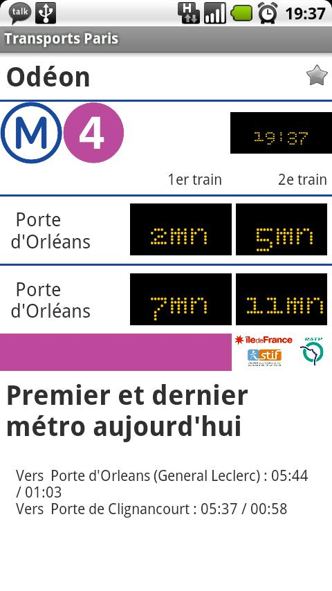 Paris Transports - screenshot