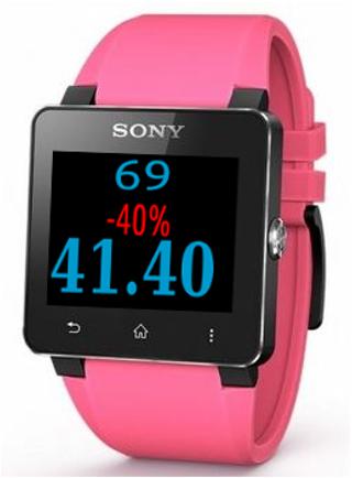 Discount Calculator Smartwatch