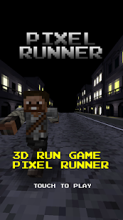 Pixel Runner -  Black city - screenshot thumbnail