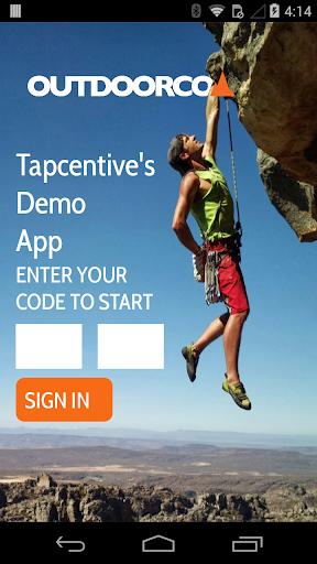 Tapcentive Demo App